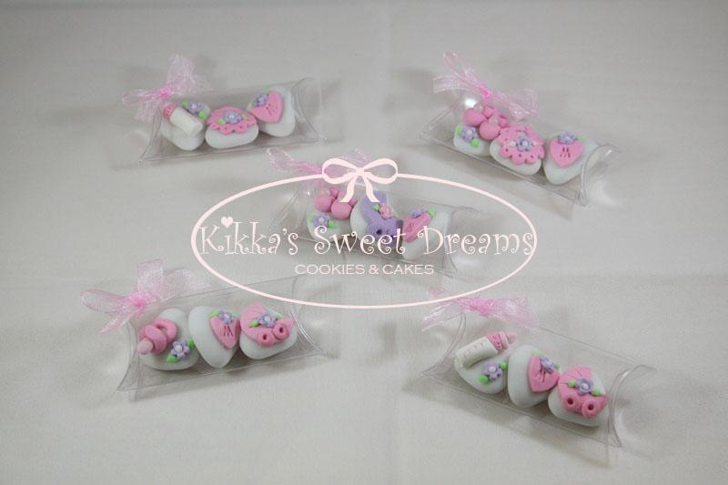 Preferenza Kikka's Sweet Dreams: Ancora confetti decoratiin lilla e rosa XS21
