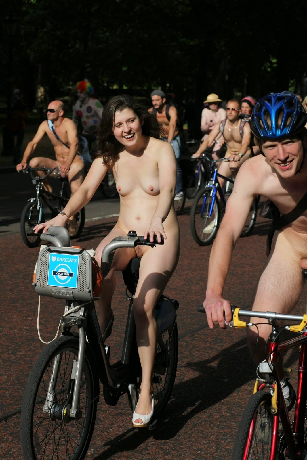 wnbr vagina world naked bike ride in london part 3