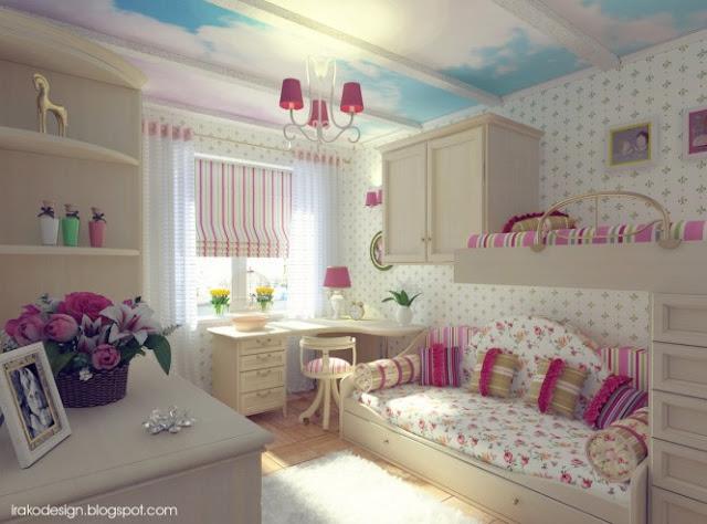 Dormitorios para ni as for Dormitorios para ninas