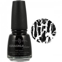 black china glaze crackle nail polish