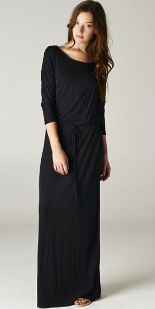 Modest relaxed drawstring boyfriend maxi dress with sleeves | Shop Mode-sty #nolayering tznius tzniut jewish orthodox muslim islamic pentecostal mormon lds evangelical christian apostolic mission clothes Jerusalem trip hijab fashion modest muslimah hijabista