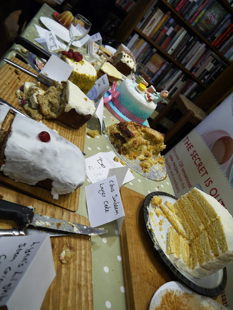 Clandestine Cake Club at Toppings Bookshop, Bath