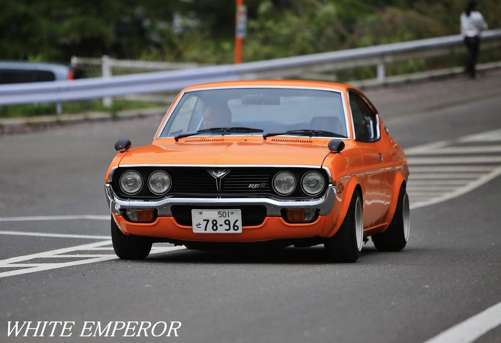 Mazda Luce Rotary, RX-4, silnik Wankla, rotary, RWD, klasyczna motoryzacja, stare auta, japońskie klasyki