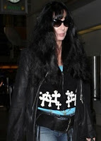 Cher at LAX airport