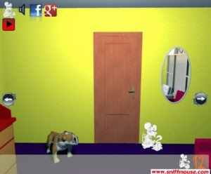 Sniffmouse real world escape 92 - Lovely dog Walkthrough