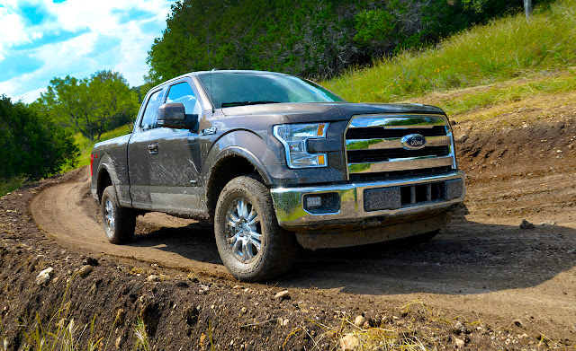 2015 Ford F-150 New Inspiration power eagle view