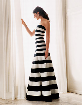 Zebra Striped Wedding ...