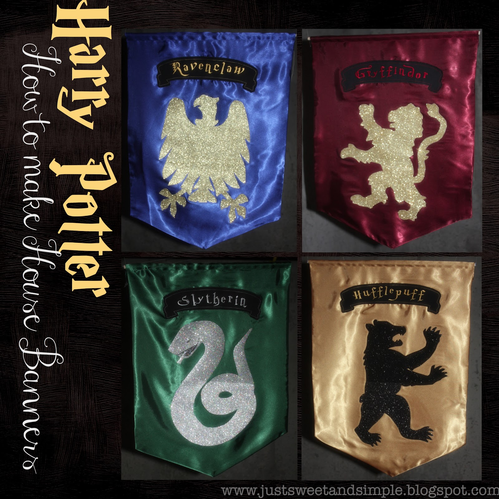 Just sweet and simple harry potter mystery dinner party for Harry potter home decorations