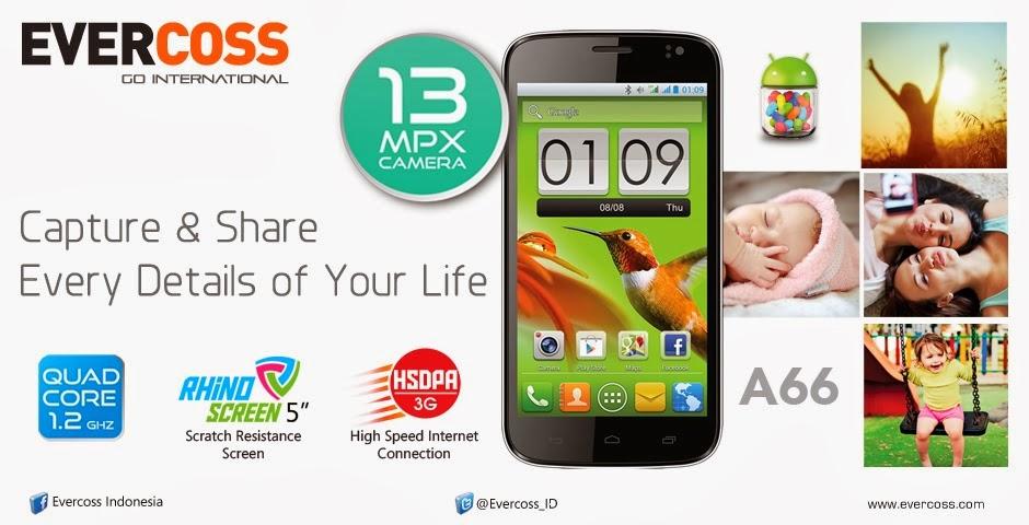 Update Harga SmartPhone Evercoss Edisi Februari 2014