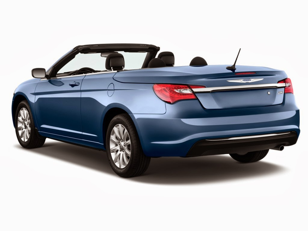 2014 chrysler 200 2 door convertible touring angular rear exterior. Cars Review. Best American Auto & Cars Review