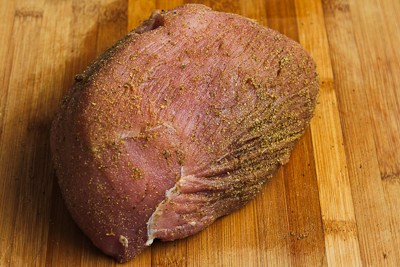... ®: Slow Cooker Bavarian Pork Sirloin Tip Roast with Sour Cream Gravy