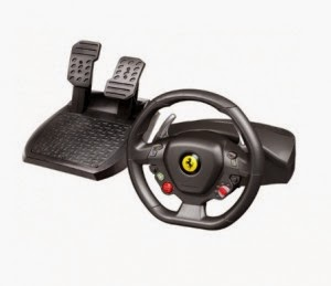 Snapdeal: Buy ThrustMaster Ferrari 458 Italia Racing Wheel for XBOX at Rs.6866