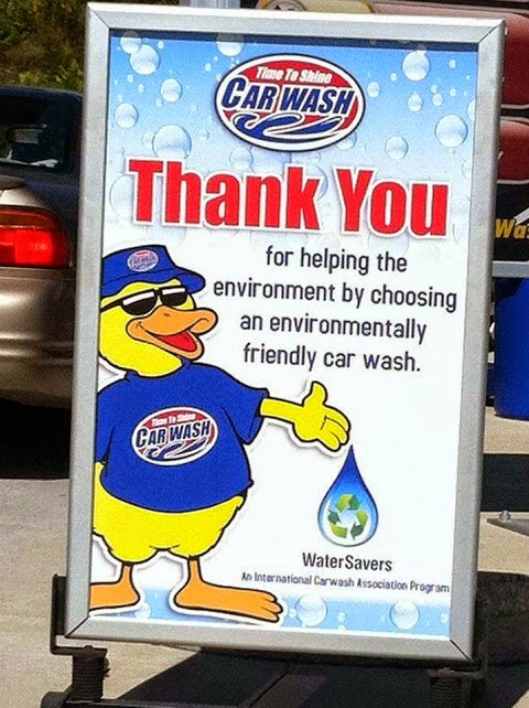 eco-friendly car wash