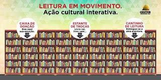 """Center Shopping Rio promove """"Leitura em Movimento"""""""