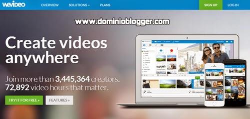 Crea y edita tus vídeos facilmente con WeVideo