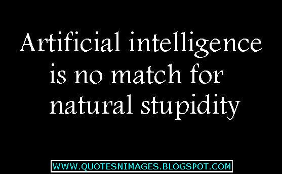 http://1.bp.blogspot.com/-R0AHTCIa8q0/UIgD_1Dv3kI/AAAAAAAAA7w/Bw1C70i9mIQ/s1600/Artificial-intelligence-is-no-match-for-natural-stupidity.JPG