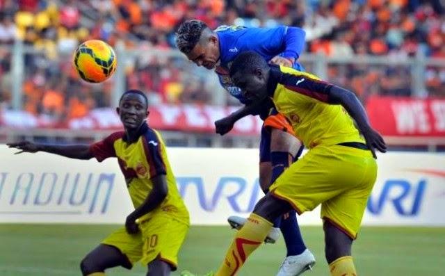 Head to Head Sriwijaya FC vs Arema Cronus