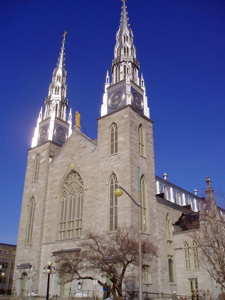 Notre-Dame Basilica in Ottawa Canada