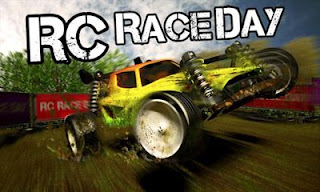 Screenshots of the RC Race Day for Android tablet, phone.