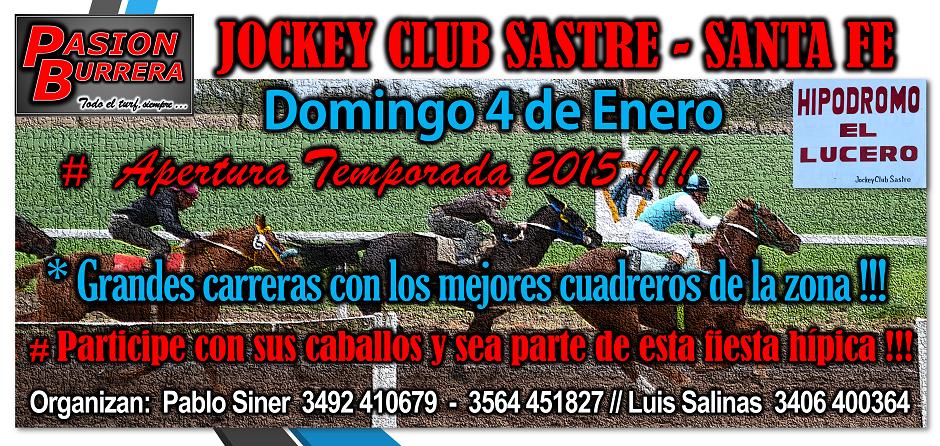 SASTRE - 4 DE ENERO 2015