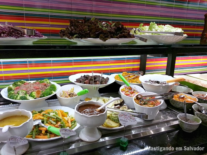 Alecrim Geração Saúde: Buffet de Saladas