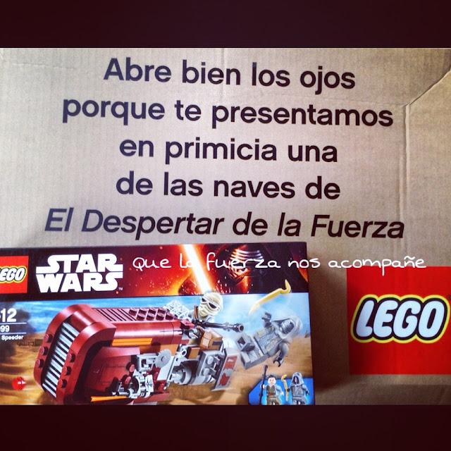 juguetes lego star wars estreno película