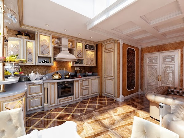 luxury kitchen design and the latest class ~ Home Inspirations