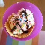 Easy party food: sundae bar