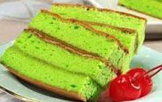 resep praktis (mudah) kue basah kue bolu pandan spesial enak, legit, lezat