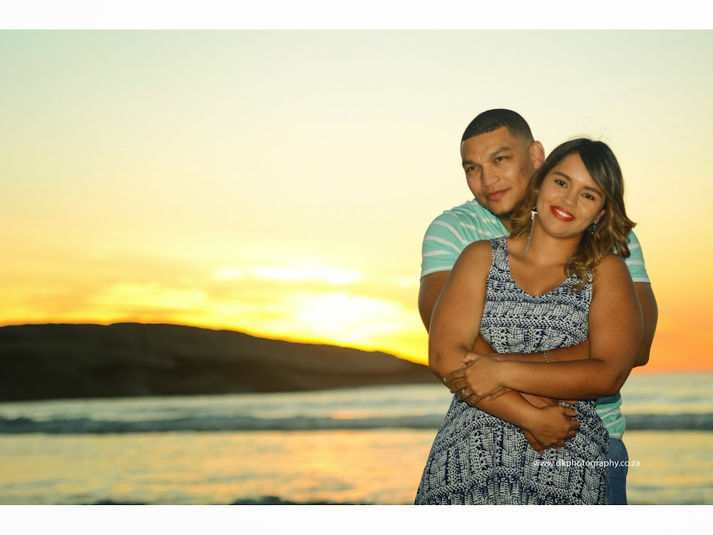 DK Photography LASTWEB-300 Robyn & Angelo's Engagement Shoot on Llandudno Beach { Windhoek to Cape Town }  Cape Town Wedding photographer