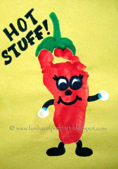 http://funhandprintart.blogspot.ca/2012/05/footprint-chili-pepper-cinco-de-mayo.html