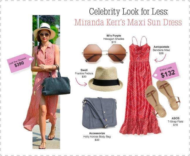Miranda Kerr Celebrity Look For Less