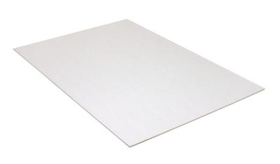 White Colored foamboard