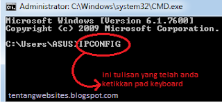 ip address pada komputer