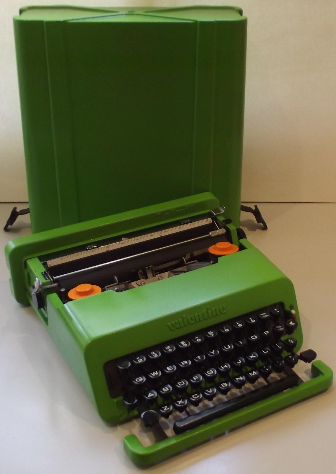 valentine olivetti green