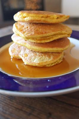 Paleo Cinnamon Orange Pancakes