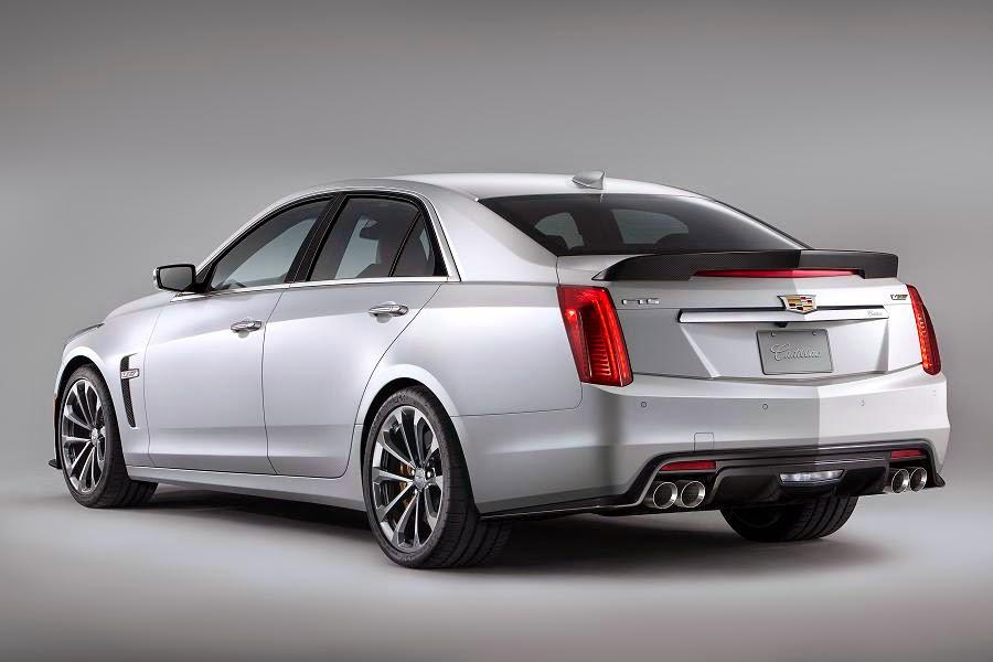 Cadillac CTS-V Sedan (2016) Rear Side