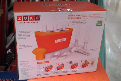Customize your popsicles with your own ingredients with the Zoku Quick Pop Maker