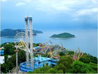 สวนสนุกโอเชี่ยนปาร์ค (Ocean Park)