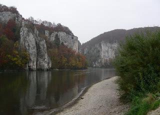 Donaudurchbruch beim Kloster Weltenburg