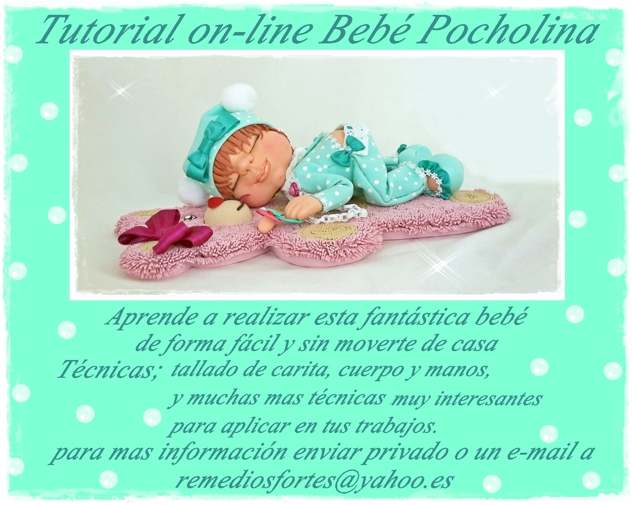 Tutorial on-line bebé Pocholina