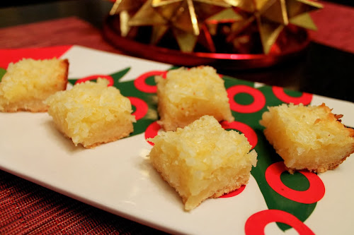 Golden Coconut-Lemon Bars