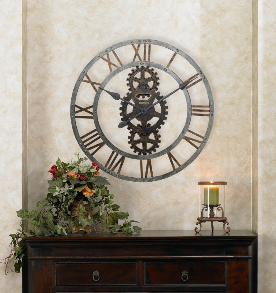 Extra Large Decorative Wall Clocks total fab: oversized & giant metal wall clocks
