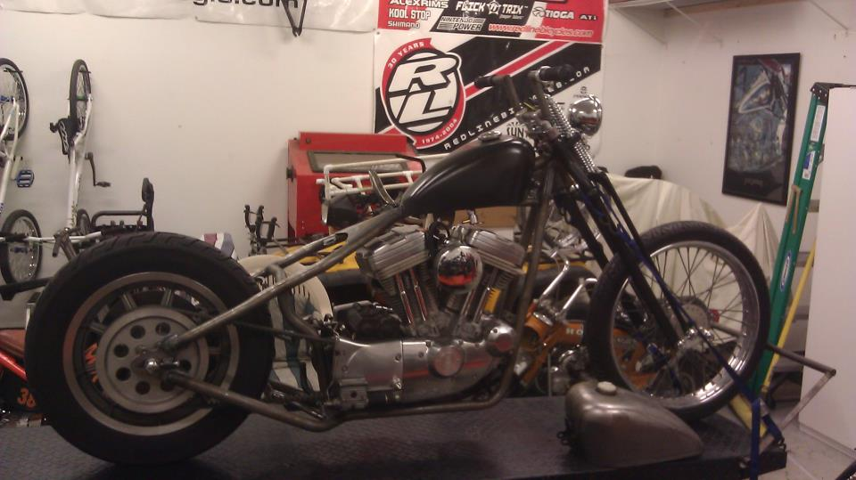 Children Of The Grave Latest Build 1994 Sportster Chopper