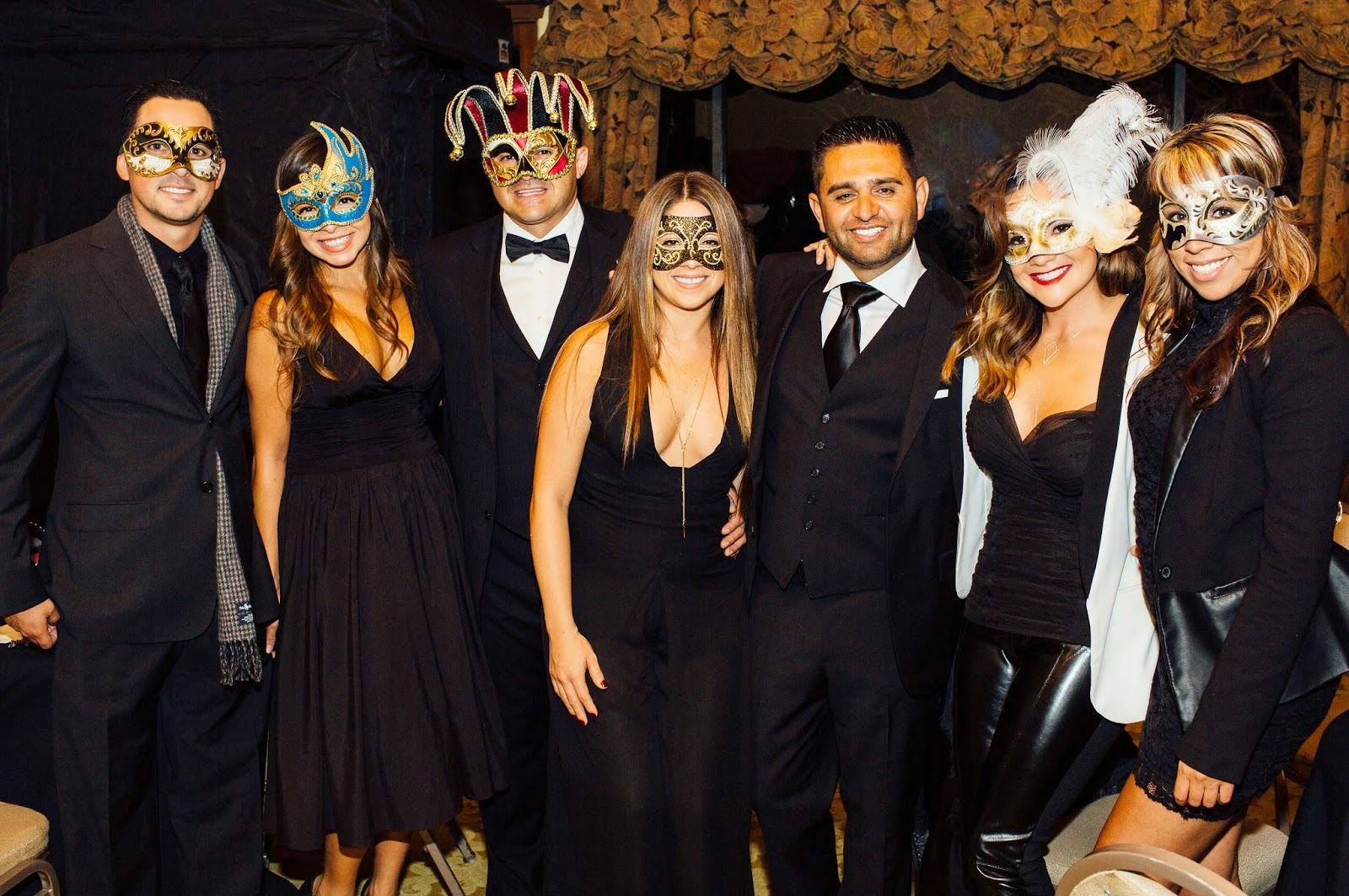 Masquerade Ball, Mask, Party Guests