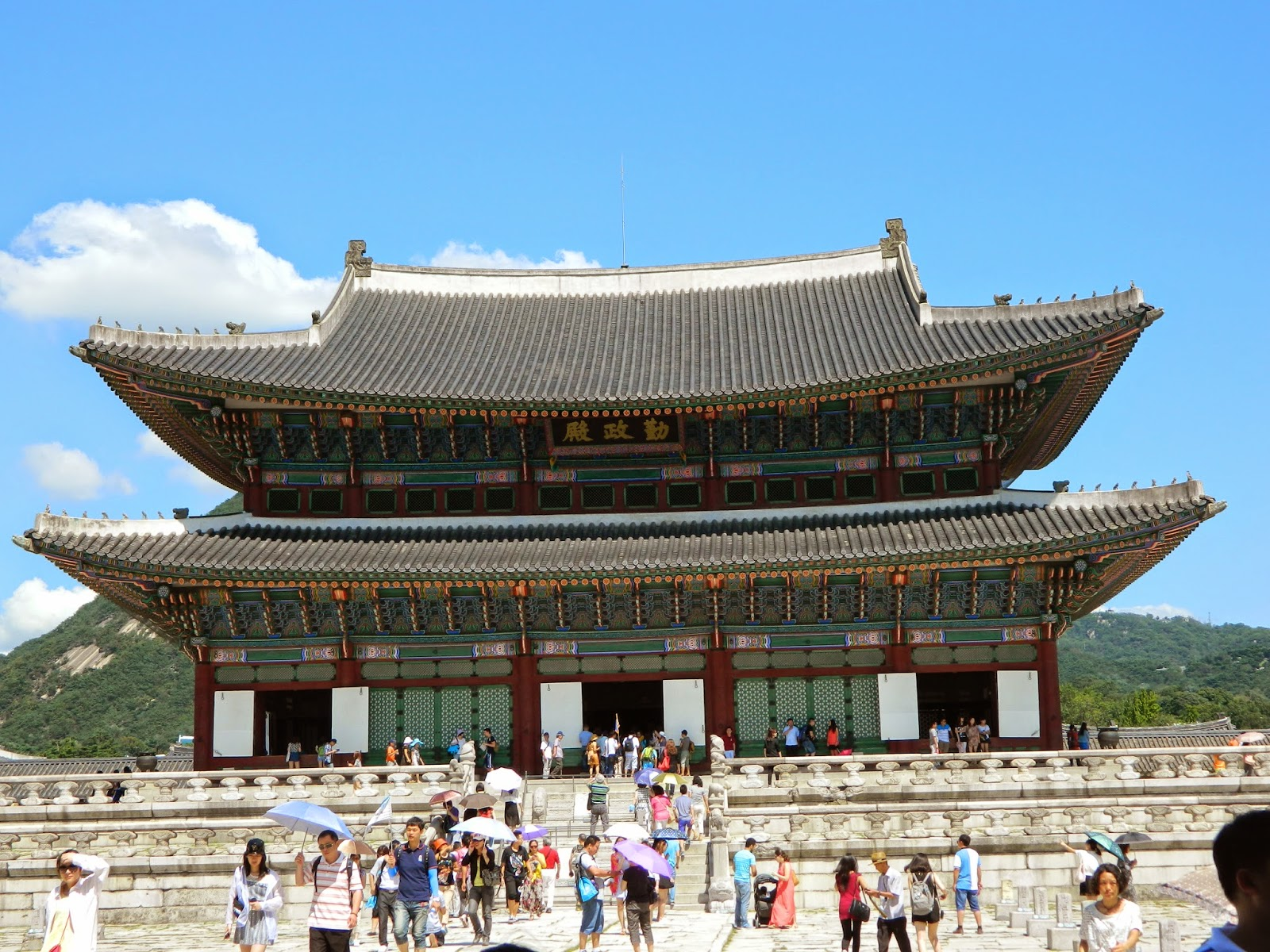 Throne Hall of the Gyeongbokgung