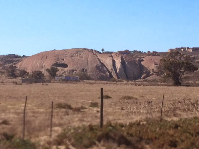 rock formations in Vredenburg