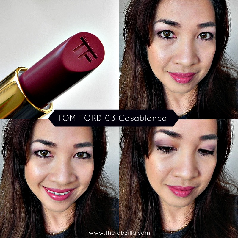 tom ford 03 casablanca swatch, review, best nude lipstick, top neutral lipstick, tom ford smells vanilla