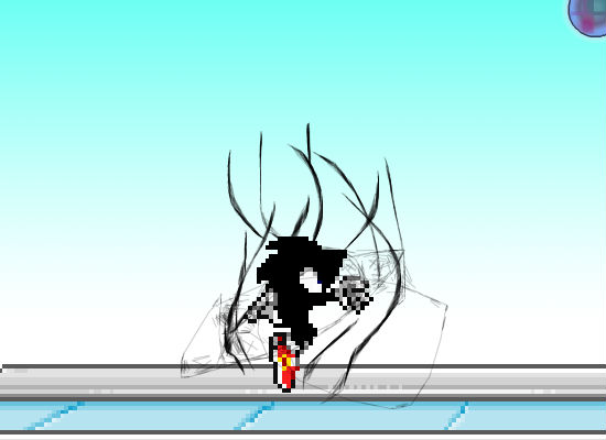Dark Super Sonic Em Super Smash Flash 2 Demo V0 8b