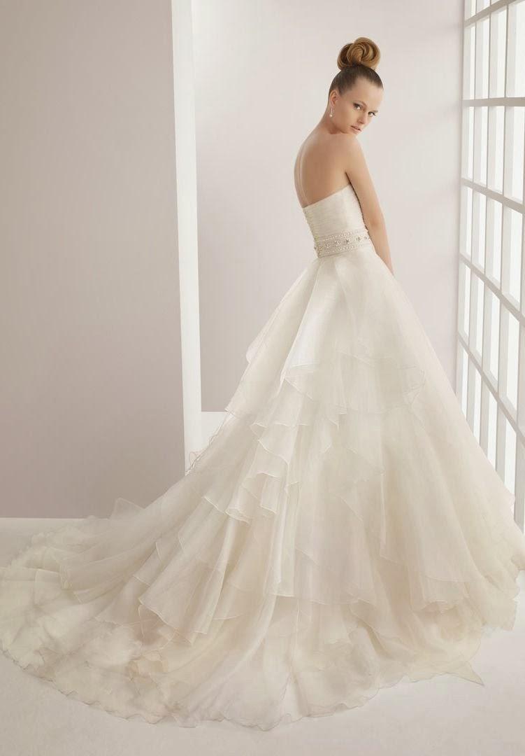 WhiteAzalea Simple Dresses Like A Princess In A Ball Gown Wedding Dress